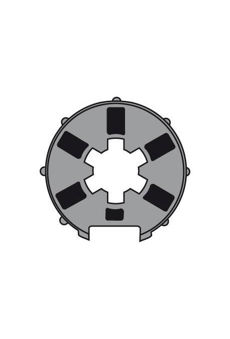 Somfy (x10) Roue pour moteur diam.40 tube Madopron 50 (so 9132138)