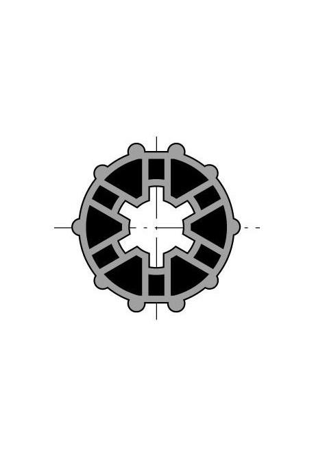 Somfy (x10) Roue LS 40 tube lisse 40x1 (so 9132142)