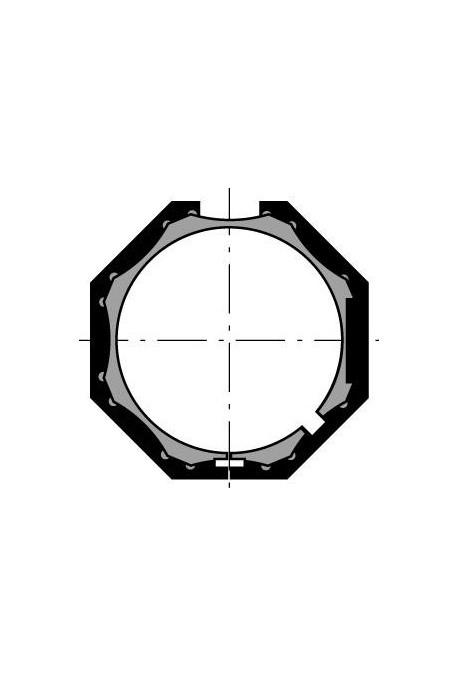 Somfy (x10) couronne LS 40 deprat octo 40 (so 9132145)