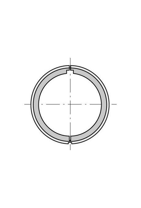Somfy (x10) Couronne pour moteur 40 tube lisse 40 x 1,5 (so 9147330)