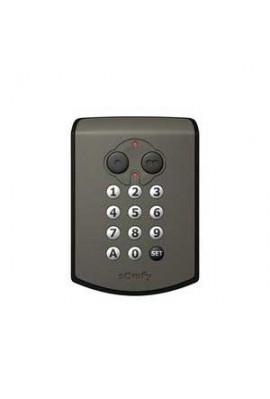 Somfy Clavier à code radio RTS (so 2400625 so 1841030) pour éviter ou contrer toute perte de télécommandes ou de clés, commande