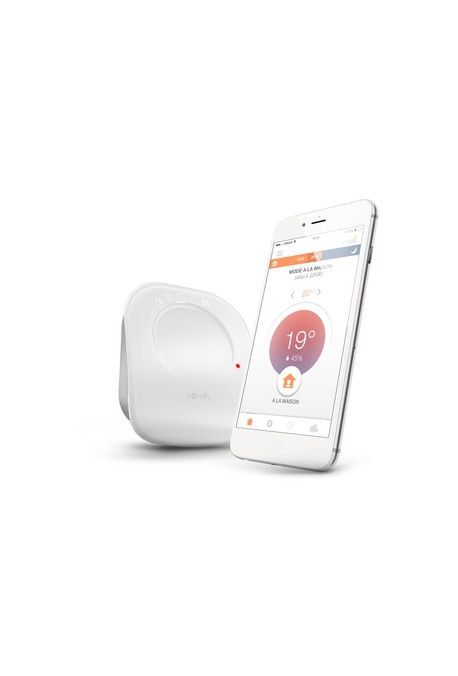Somfy Thermostat connecté radio contact sec (so 2401499)