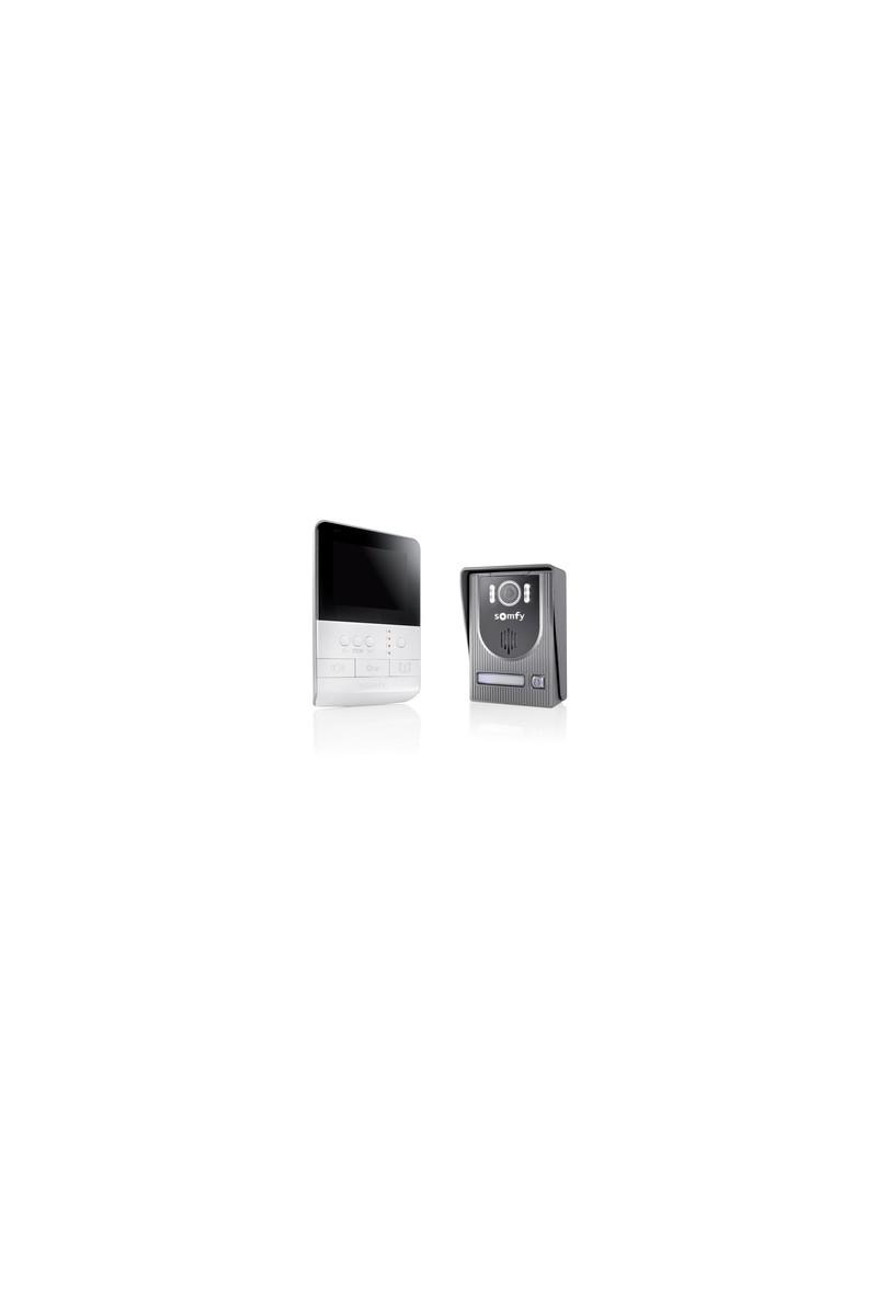 somfy visiophone v100 plug and play so 2401330 expert. Black Bedroom Furniture Sets. Home Design Ideas