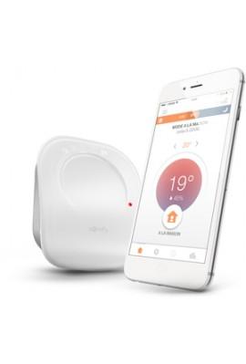 Somfy Thermostat connecté filaire (so 2401498) programmation associant thermostat, capteur de soleil et volets, compatible Tahom