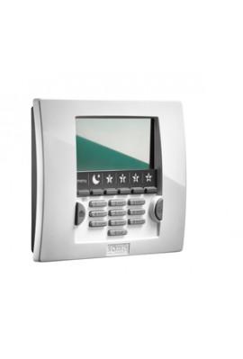 Somfy alarme : clavier LCD blanc avec badge (so 1875119) Permet la mise en marche totale ou partielle du système d'alarme et son
