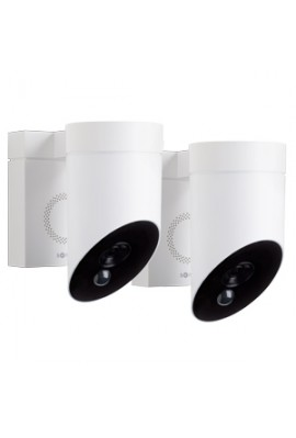 Somfy Duo caméra de surveillance blanche outdoor ext. (so 1870471)