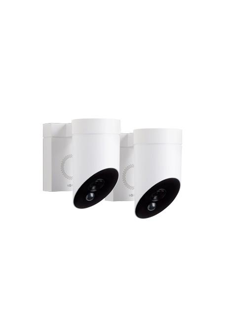 Somfy Duo caméra de surveillance blanche outdoor ext. (so 1870472)