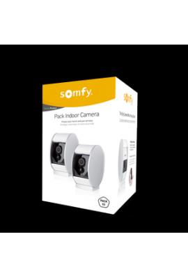 Somfy alarme : caméra de surveillance intérieure Sécurity (so 2401485) compatible Tahoma, Home alarme et Somfy One/One+ à associ