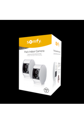 Somfy alarme : Duo caméra de surveillance indoor Protect (so 1870469)