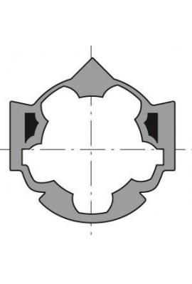 Somfy roue moteur diam 50 tube Hexa  diam 50 (so 9410309)