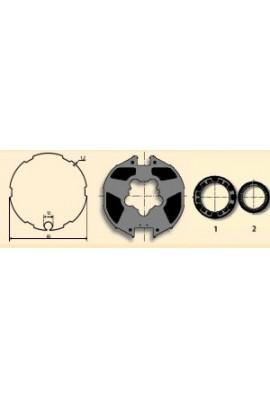 Somfy roue couronnes moteur 50 tube Imbac 85 tube 78 (so 9410327)