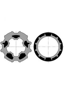 Somfy roue et couronne pour moteur diam 50 tube Imbac 65 (so 9410335)