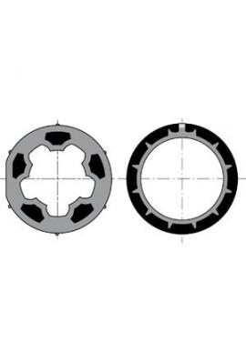 Somfy roue + couronne moteur LT 50 tube Mischler diam 60 (so 9410316)