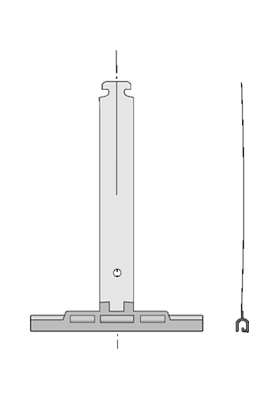 Somfy agrafe Deprat tube octo 40 (so 1781008)