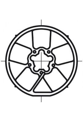 Somfy roue LT 60 tube diam.133x2,5 (so 9420310)