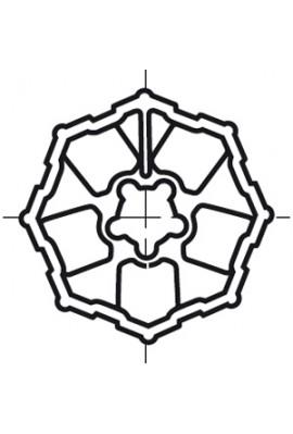 Somfy roue LT 60 tube Heroal octo 125 (so 9420343)