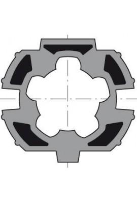 Somfy (x10) roue LT 50 ZF 64 recentré (so 9410356)