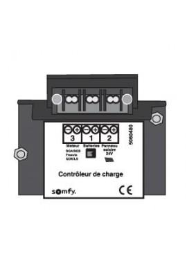 Somfy contrôleur de charge de batterie pour kit solaire (so 9014492)