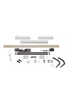 Somfy kit Yslo io Flex 2 vantaux blanc bras noirs (so 1240174)