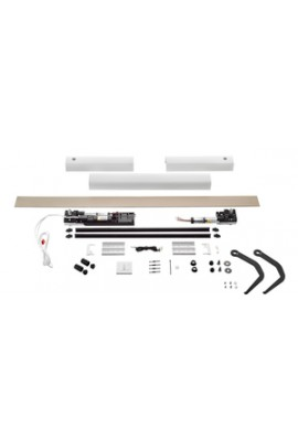 Somfy kit Yslo io Flex 1 vantail blanc bras noirs (so 1240177)