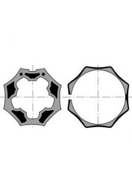 Somfy roue et couronne LT 50 tube Selve Gaviota Octo 50 (SO 9410381)