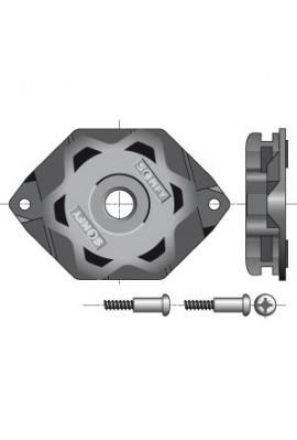 Somfy support moteur étoile CSI diamètre 50 et 60 (so 9910051)