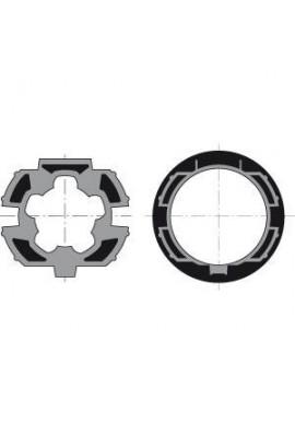 Somfy Jeu roue et couronne LT 50 tube ZF 64 recentré (so 9410400)