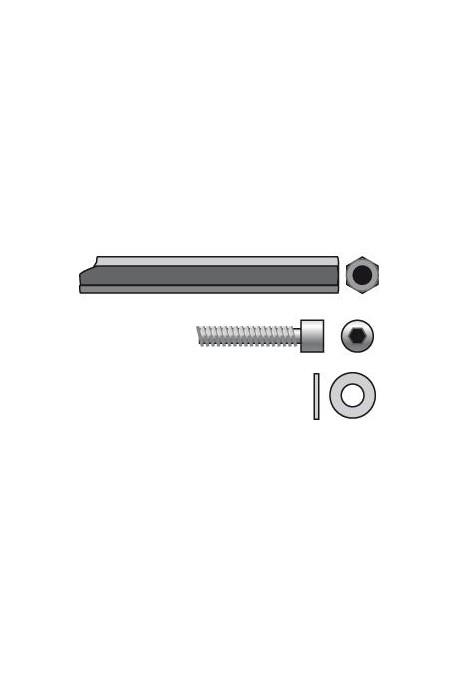 Somfy rallonge sortie de caisson axe hexa 7mm long 200 mm (so 9420657)