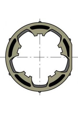 Somfy (x10) roue moteur 50 tube 50x1,5 clippage faible (so 9206089)