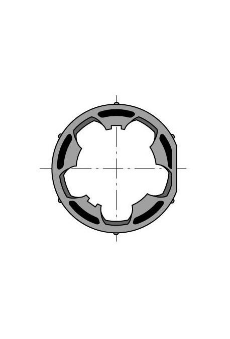 Somfy roue moteur diam. 50 tube diam. 50, clippage dur (so 9410414)