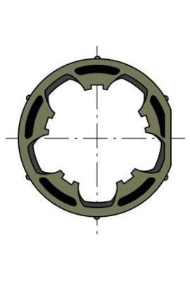 Somfy Roue moteur ø 50 tube ø 50 clippage faible (so 9410415)