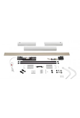 Somfy kit Yslo io Flex 2 vantaux blanc bras blancs (so 1240175)