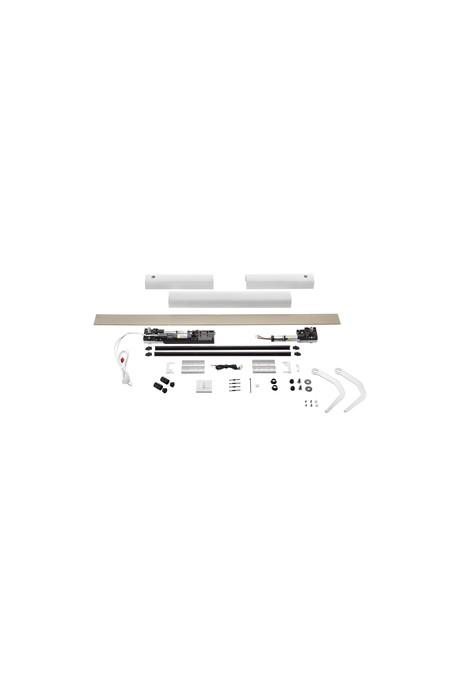 Somfy kit Yslo io Flex 2 vantaux blanc bras blancs (so 1240175)