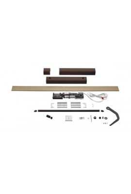 Somfy kit Yslo io Flex 1 vantail marron bras noirs (so 1240179)