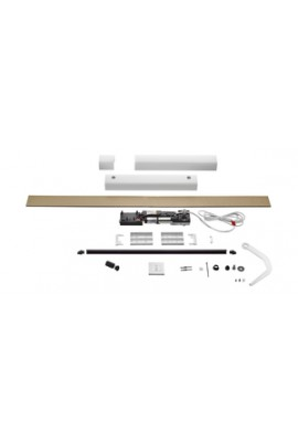 Somfy kit Yslo io Flex 1 vantail blanc bras blanc (so 1240178)