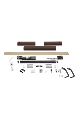 Somfy kit Yslo io Flex 2 vantaux carter blanc bras noirs (so 1240174)