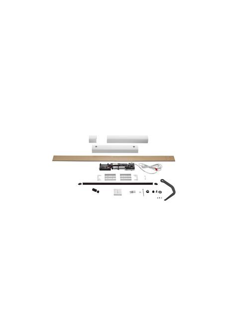 Somfy kit Yslo io Flex 2 vantaux carter blanc bras noirs (so 1240174)