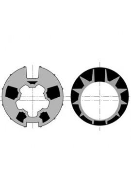 Somfy roue couronne moteur 50 tube Dôhner 70 goutte 13 (so 9410421)