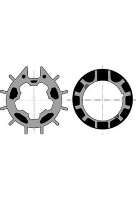 Somfy roue couronne moteur diam.50 tube Imbac 70 goutte12 (so 9410351)