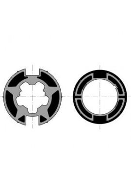 Somfy roue couronne moteur 50 tube Welser 70 à goutte (SO 9410314)