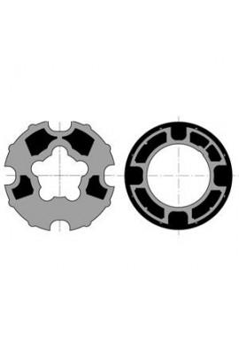 Somfy roue couronne moteur 50 tube Dohner 78 goutte 12 (so 9410325)