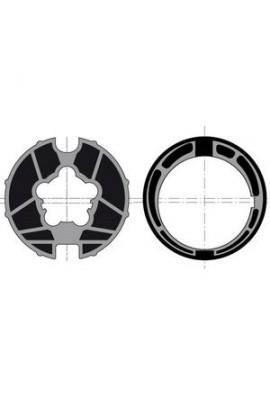 Somfy roue couronne moteur diam.60 tube 78 goutte 12 (so 9420328)