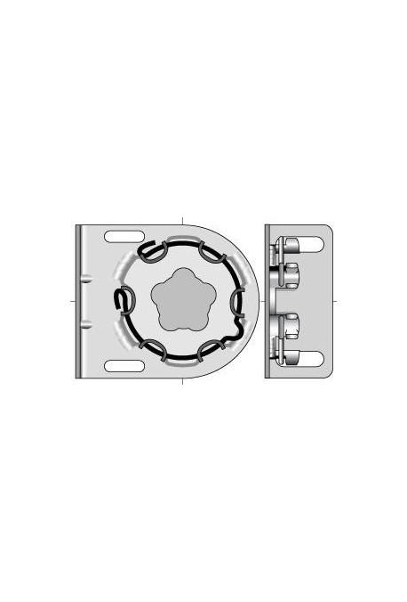 Somfy support moteur universel diamètre 50 et 60 (so 9410651)