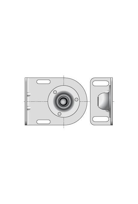 Somfy Support rotule pour embout diamètre 12mm (so 9410633)