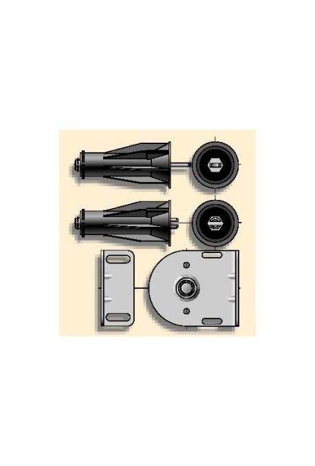 Somfy embout palier intermédiaire pour tube diamètre 50 (so 9410654)