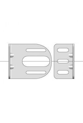 Somfy équerre murale pour support moteur diam.40 et 50 (so 9410639)