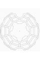 Somfy roue moteur diam.50 tube Rollerbat diam.80 (so 9019556)