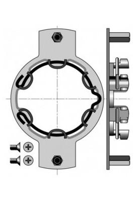 Somfy Support moteur diam.50 déporté caisson ZF Lucobaie (so 9410719)