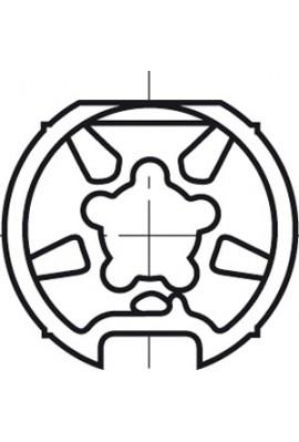 Somfy roue LT 50/60 tube diam.89x2 (so 9420303)