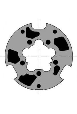 Somfy Roue moteur diam.60 Llaza diam.80 goutte ronde 12 (so 9420305)